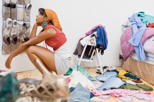 Get Rid of Clutter, Organize your Closet